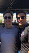 Elon Musk cu Denis Tudor.