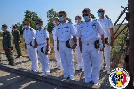 AMVVD Constanța ceremonie cinstirea memoriei militarilor decedați accident Tuzla3