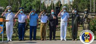 AMVVD Constanța ceremonie cinstirea memoriei militarilor decedați accident Tuzla6
