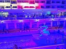 Hotelul Panoramic Olimp pe înserat-foto-Elena Stroe-02