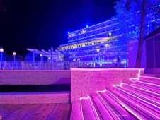 Hotelul Panoramic Olimp pe înserat-foto-Elena Stroe-08