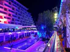 Hotelul Panoramic Olimp pe înserat-foto-Elena Stroe-16