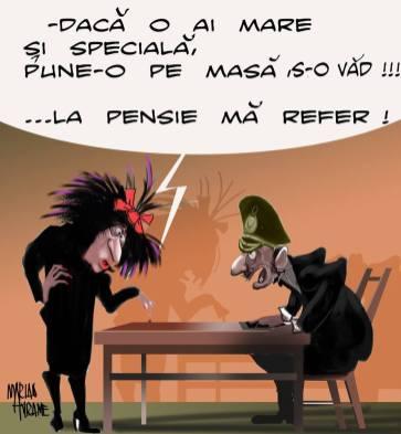 Marian Avramescu - pensia speciala