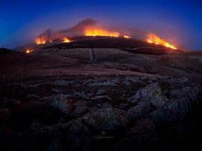 Mircea Bezergheanu - incendiu in baltă
