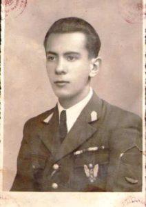 Alexandru_Podgoreanu_sef_promotie_Scoala_de_pilotaj_Ploiesti_1938