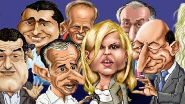 Resultado de imagen de caricaturi politicieni