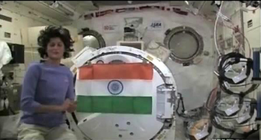 Sunita Williams takes over command at International Space ...