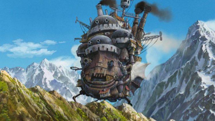 castello in movimento nella landa