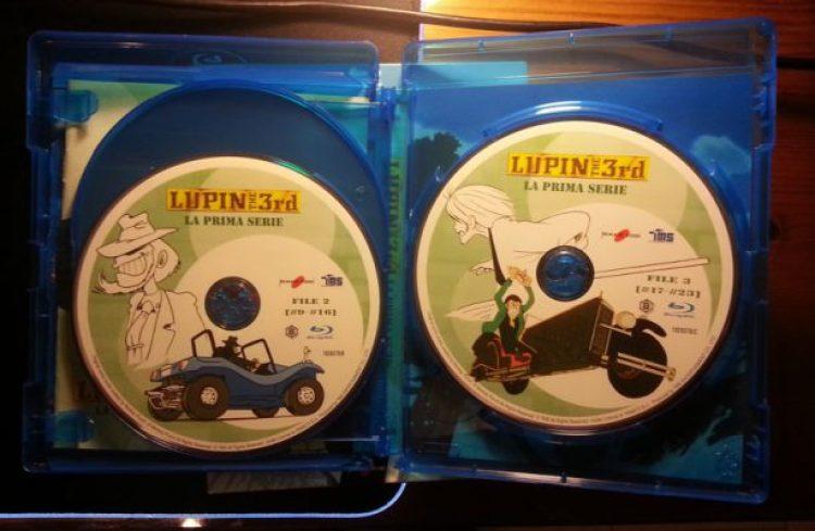 Lupin The 3rd Blu-Ray Dischi
