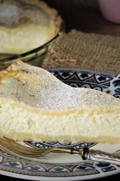Mom's Ricotta Pie