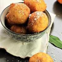 Savory Pumpkin Ricotta Fritters