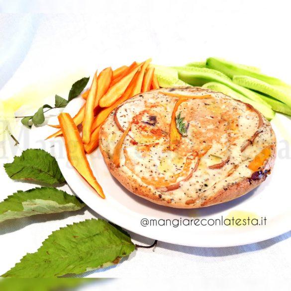 Pancake Salato Fit