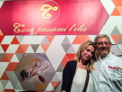 con chef Tano Simonato