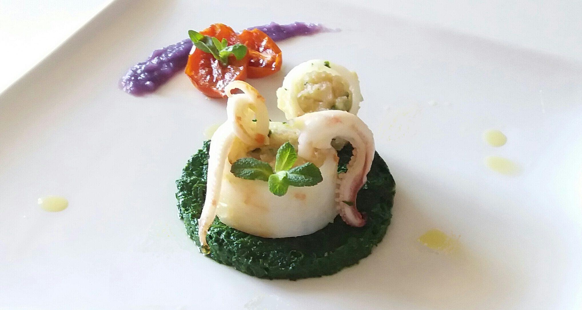 ricetta calamaro ripieno