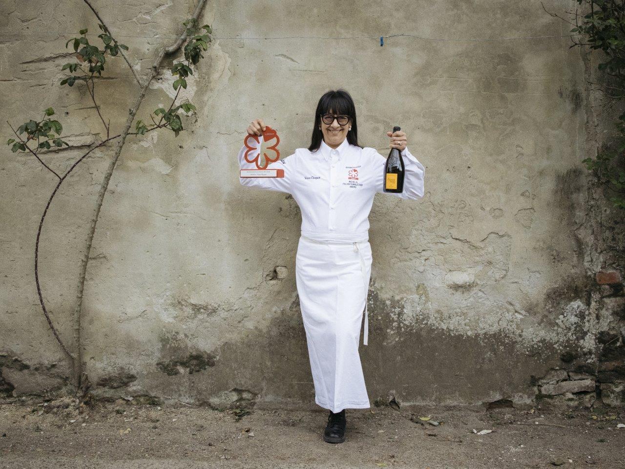 Isa Mazzocchi Premio Michelin Chef Donna