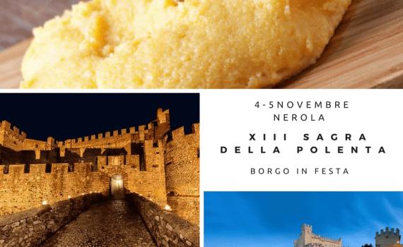 Sagra della polenta a Nerola