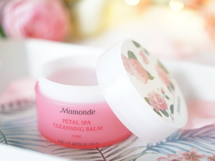 Mamonde Petal Spa Cleansing Balm Rose