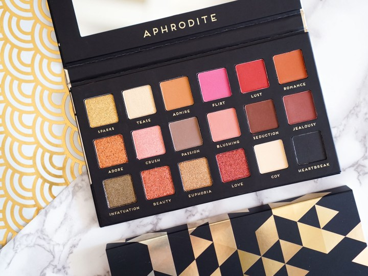 Bad Habit Aphrodite palette dupe Huda Beauty Rose Gold
