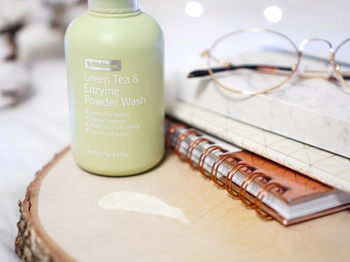 by Wishtrend Green Tea Enzyme Powder Wash