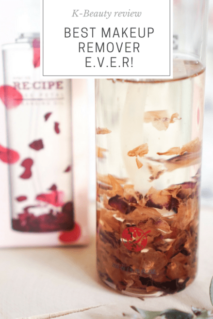 Re:cipe Cleansing Oil Rose Petal Best Korean cosmetic