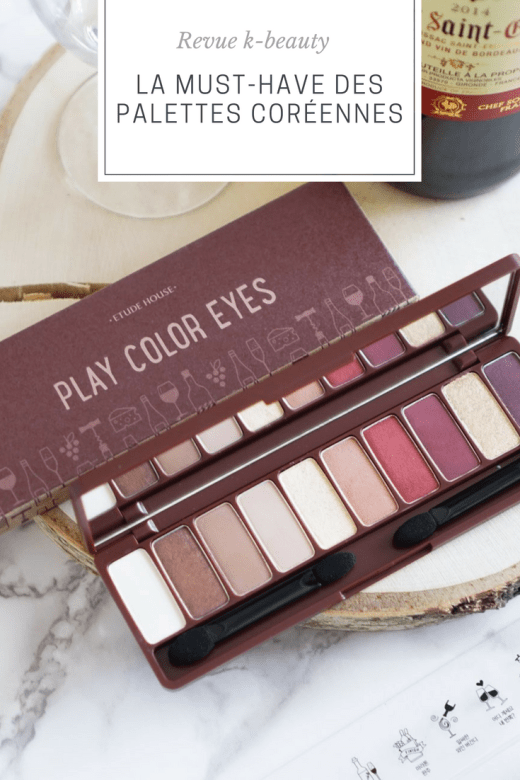 Etude House Play Color Eyes Wine Party palette