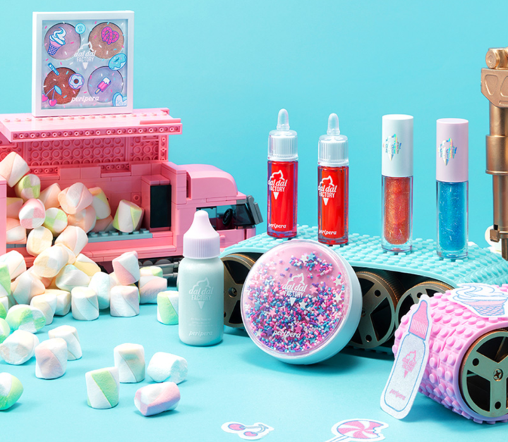 K-beauty 2018 SS Summer Collection Peripera Dal dal Factory