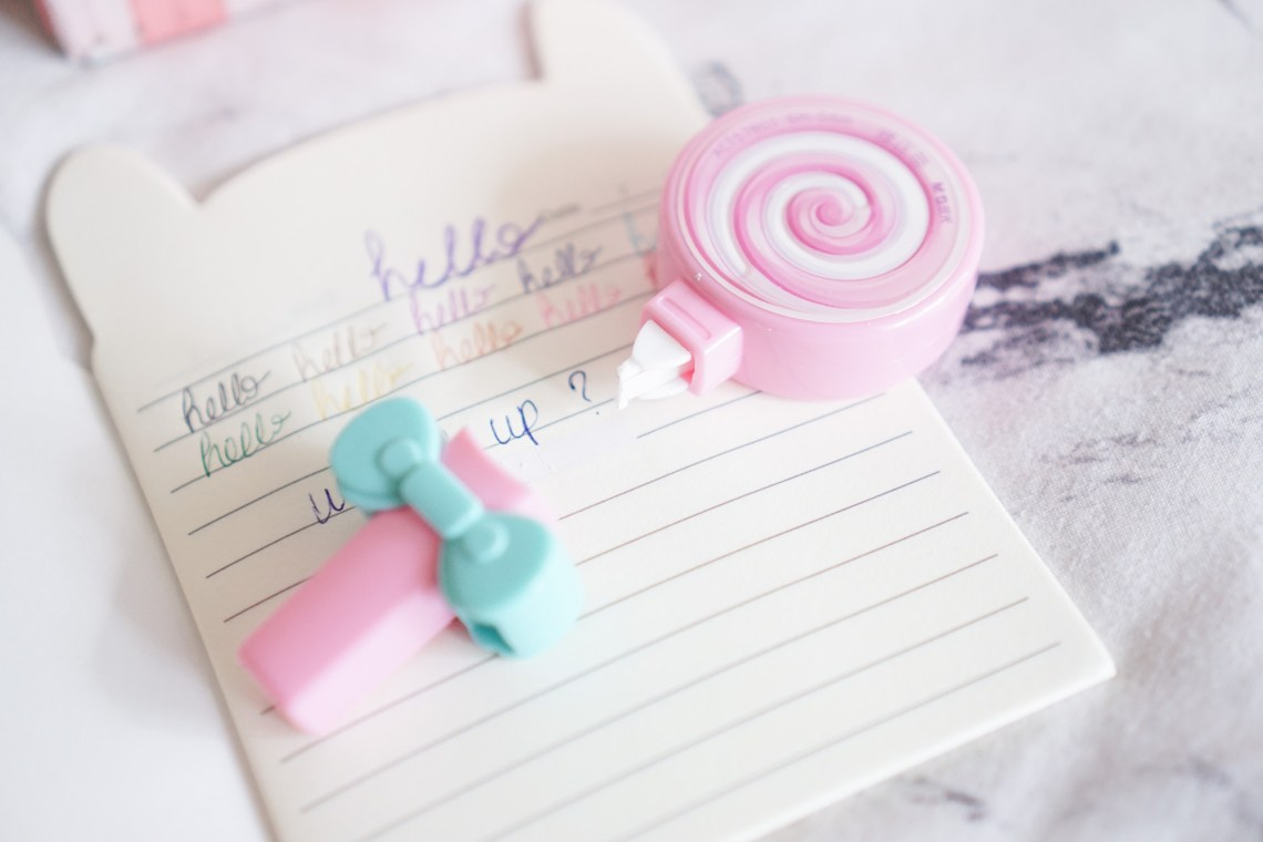 Crazy Kawaii Box Cute Lollipop Eraser