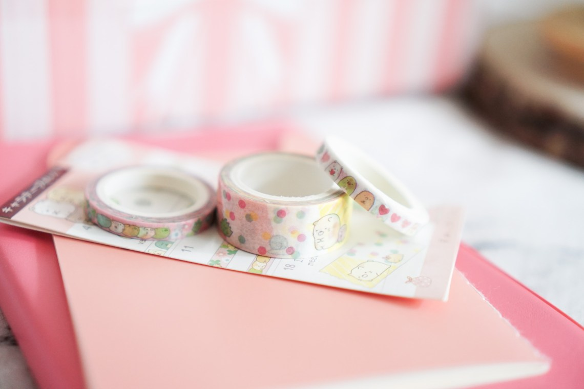 Crazy Kawaii Box Cute Washi Tape Sumikko Gurashi