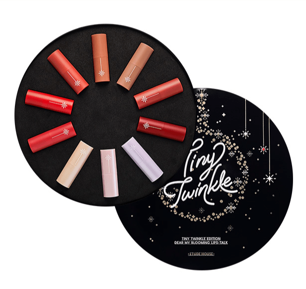 Etude House Tiny Twinkle Edition Dear My Blooming Lips-Talk 1