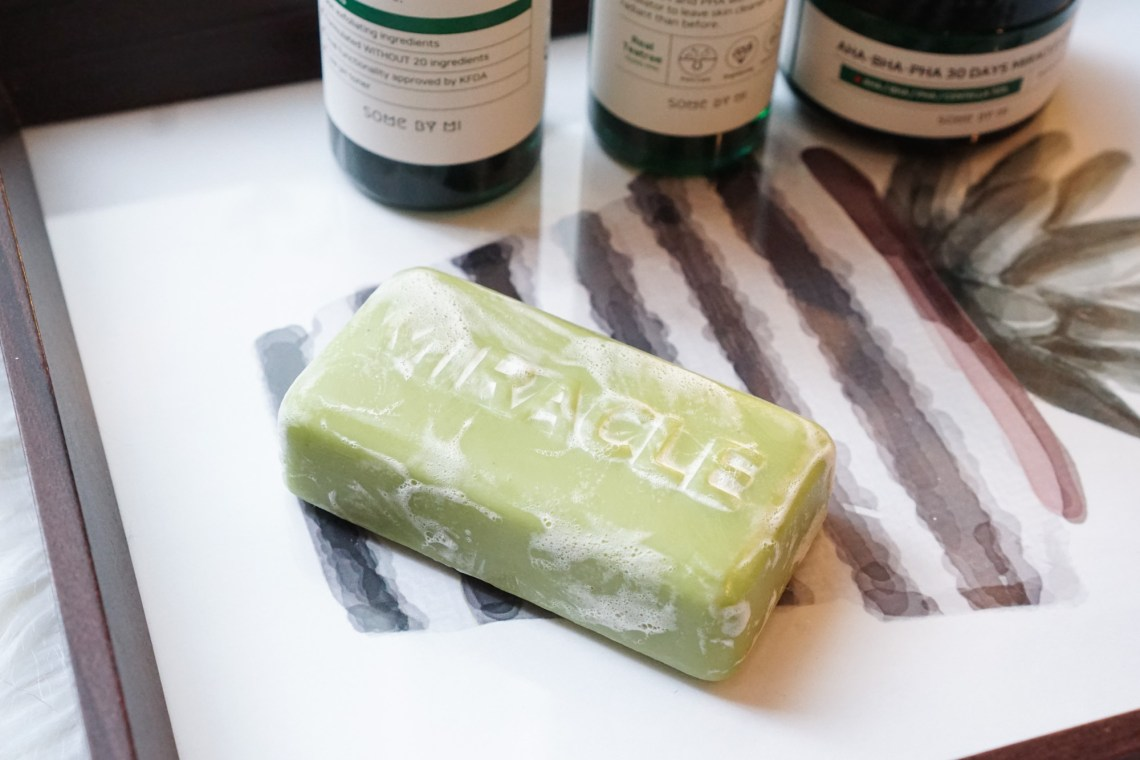 Some By Mi Miracle Cleansing Bar AHA BHA PHA 30 DAYS