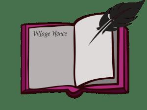 Blockchain Analogy: Illustration of Village Ledger as Blockchain ledger