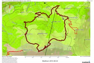 Breithorn 2015 08 22
