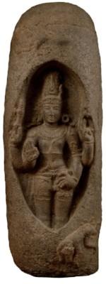 """Linga,"" an iconic representation of the Hindu god Shiva"