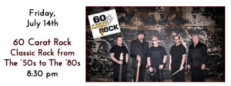 60 Carat Rock Plays at Manhattan's in Carol Stream