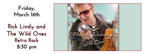 Rick Lindy and The Wild Ones play at Manhattan's in Carol Stream