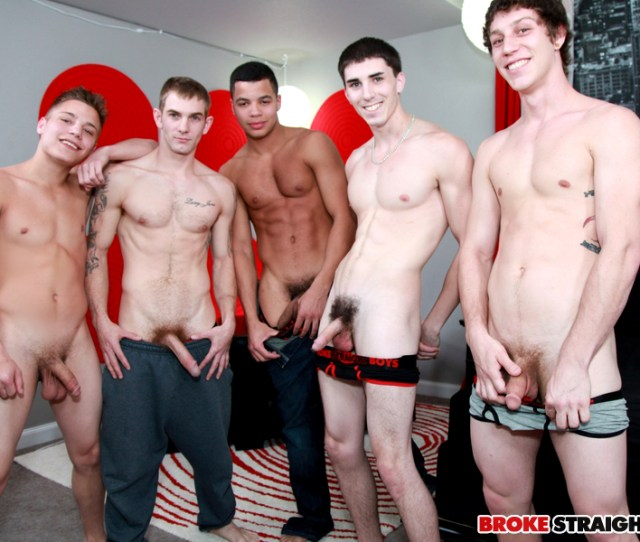 Broke Straight Boys Th Scene Bareback Orgy