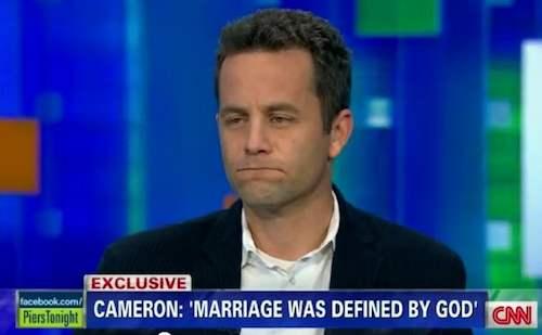 Kirk Cameron contra los gays, segunda parte