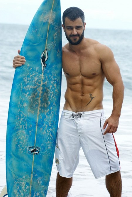 Sexy profesor de: Surfing