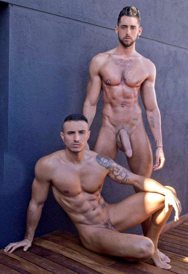 Massimo-Piano-Gay-Porn-Star-Klein-Kerr-Boyfriend-Naked-2