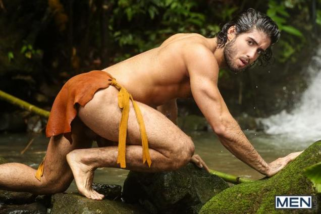 Tarzan-Gay-Porn-Parody-XXX-Diego-Sans-Tobias-Outdoor-Sex-Waterfall-2