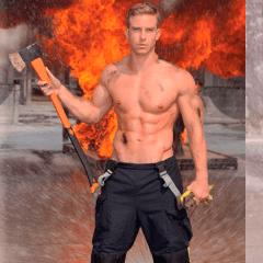 Un bombero en apuros