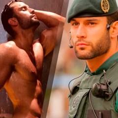 ¿Se acuerdan del policía más sexy de España? ¡Se ha desnudado!