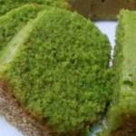 Receita de bolo de chá verde