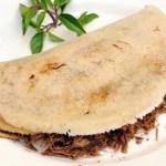 Maravilhosa receita de tapioca com carne seca