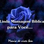 **MENSAGEM BÍBLICA**