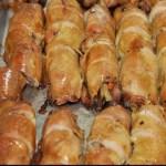 Saboroso filé de frango recheado