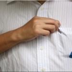 Remova manchas de tinta usando apenas leite! É super simples e prático!