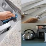 Dicas simples que podem deixar seus utensílios de cozinha e eletrodomésticos de inox brilhando
