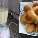 Aprenda a fazer esse pãozinho de liquidificador, e não compre mais pão de padaria!