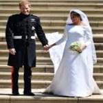 Vestido de noiva usado por Meghan Marke será exposto ao público